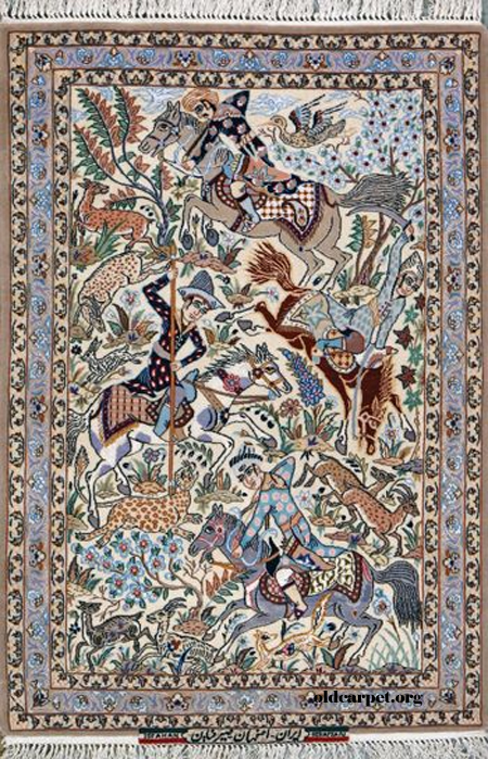 Isfahan Hunting Pictorial