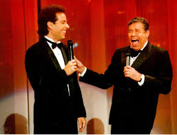 Jerry Lewis and Jerry Seinfeld