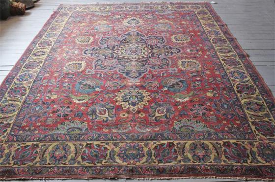 Kayseri Oriental Rug-Wool-1950s