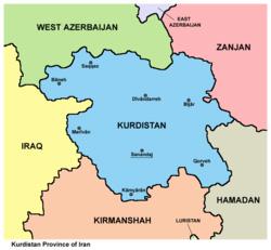Kurdistan Province Iran
