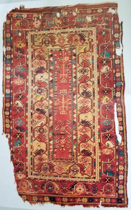 Milas Oriental Rug - 18th Century