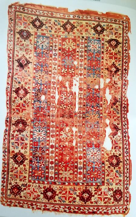Milas Oriental Rug - 19th Century