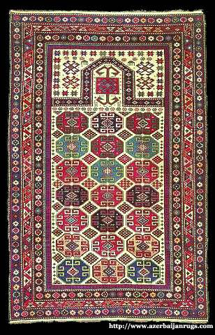 Moghan(Caucasus)Prayer Rug