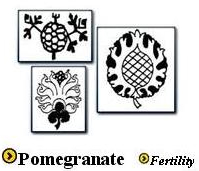 Pomegranate Motif