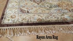 Rayon Rug