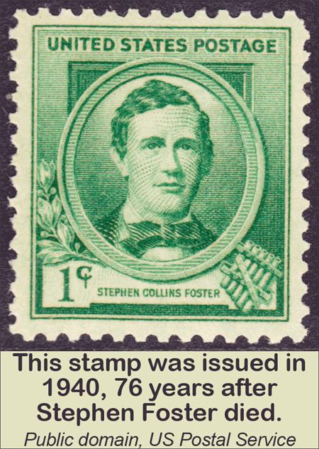 Stephen Collins Foster Stamp