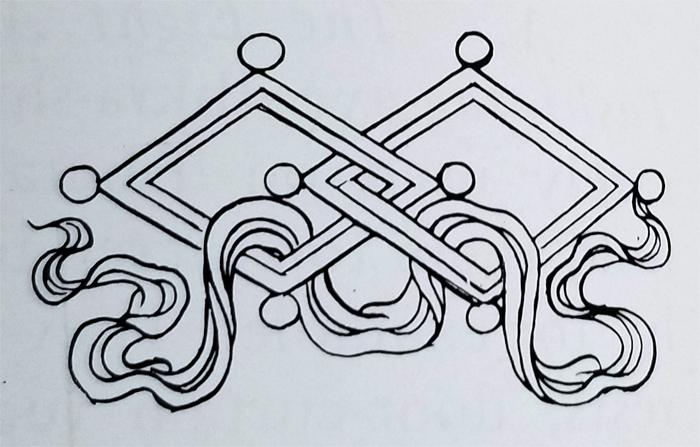 Tibetan Ordinary Symbol-The Lozenge