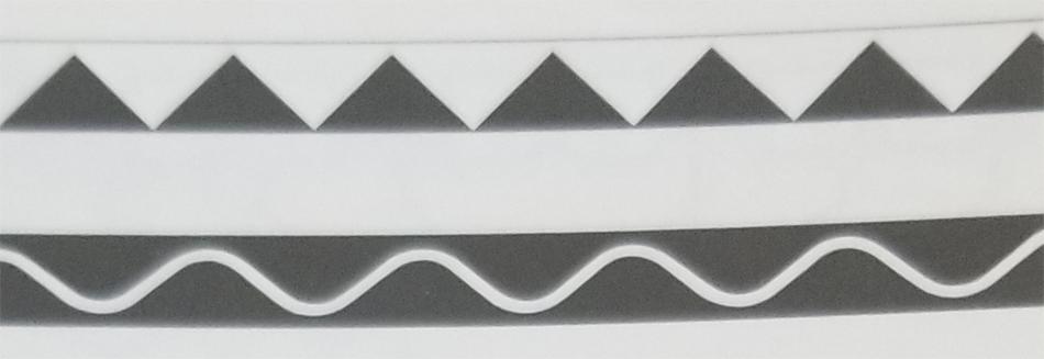 Tibetan Rug Gold Writing Border Designs