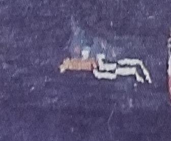 Tibetan Rug Motif-The Butterfly
