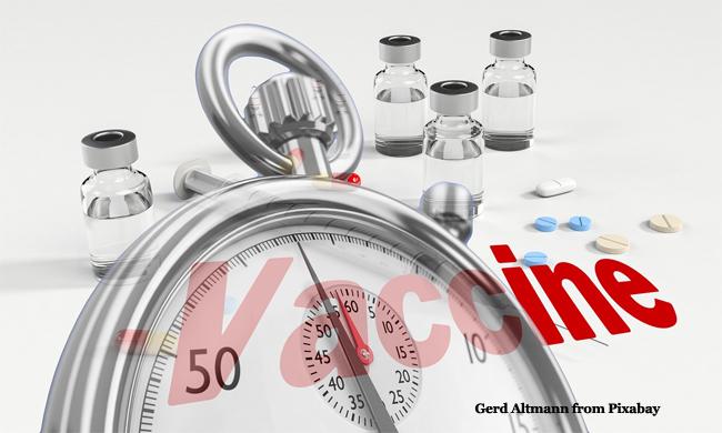 Vaccine Stopwatch