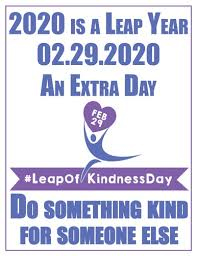 A Leap of Kindness