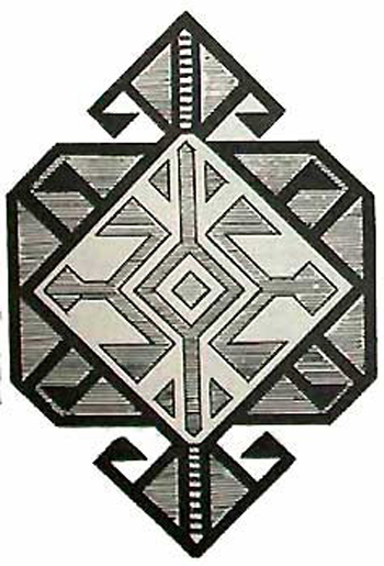 Ali-Akbar-Khani Hexagon Lattice Baluchi Motif