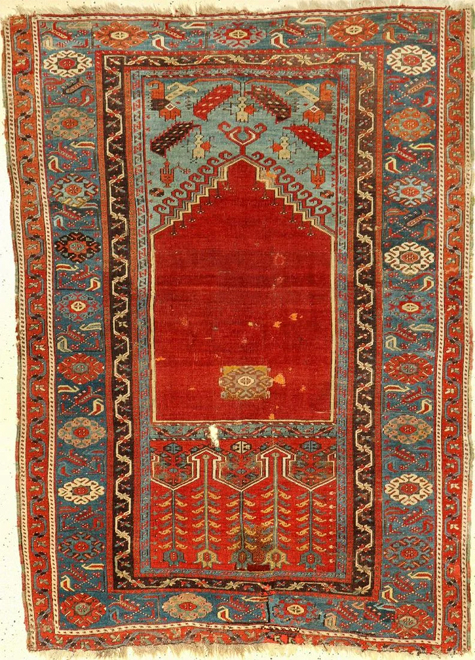 Antique Ladik Oriental Rug