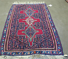 Antique Persian Senneh Kilim