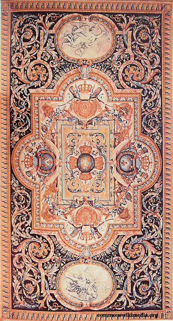 Antique Savonnerie Tapestry