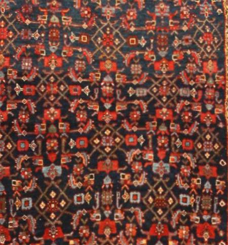 Herati Design in Antique Bijar