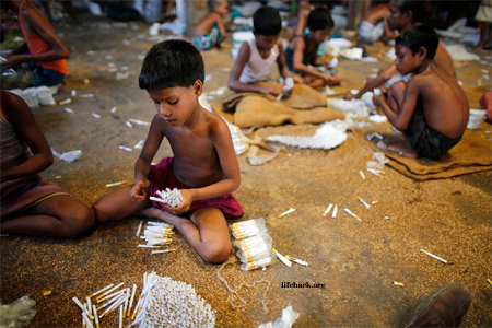 Child labor in tobacco industry-Bangladesh