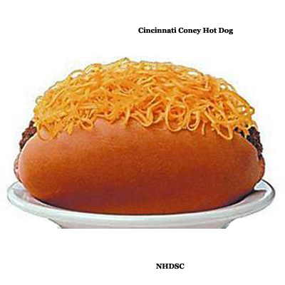 Cincinnati Coney Hot Dog