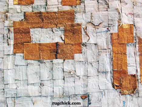 Closeup of Cigarette Paper Rug