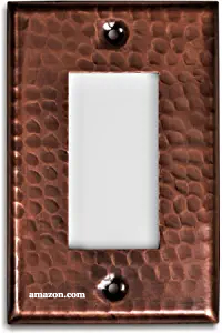 Copper Light Switch