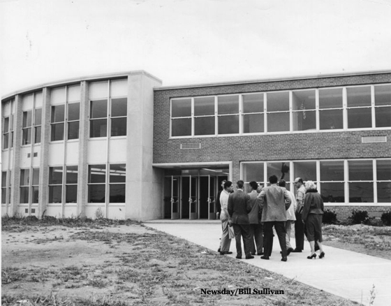 Dedication of Jonas E. Salk Jr. High School in Levittown-1957