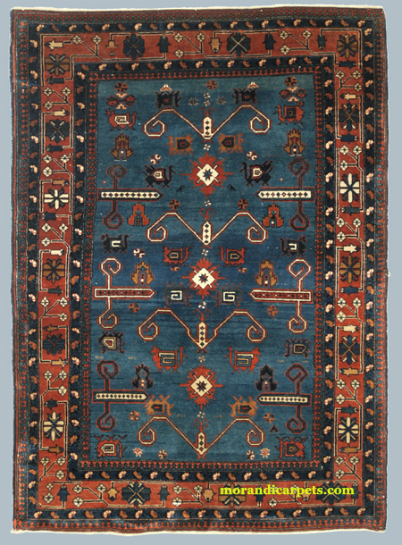Derbend Oriental Rug - Early 20th Century