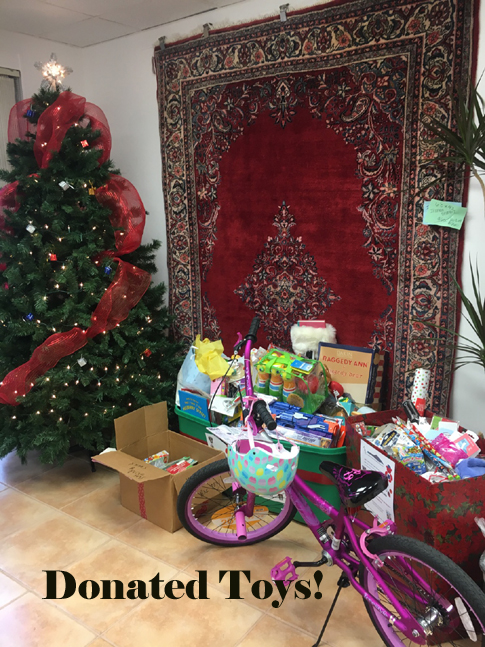 Donated Toys for Cops, Kids, and Toys!