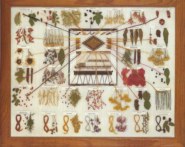 Natural Dye Chart