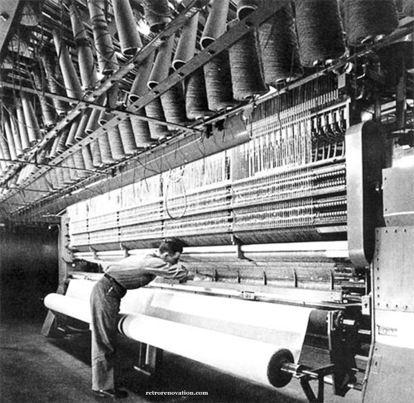Early Tufting Machine