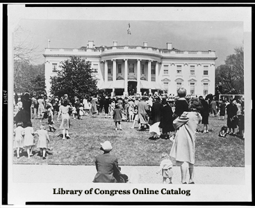 White House Easter Egg Roll - 1944