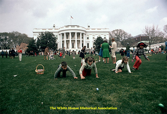 White House Easter Egg Roll - 1965