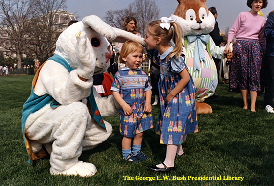 White House Easter Egg Roll - 1990