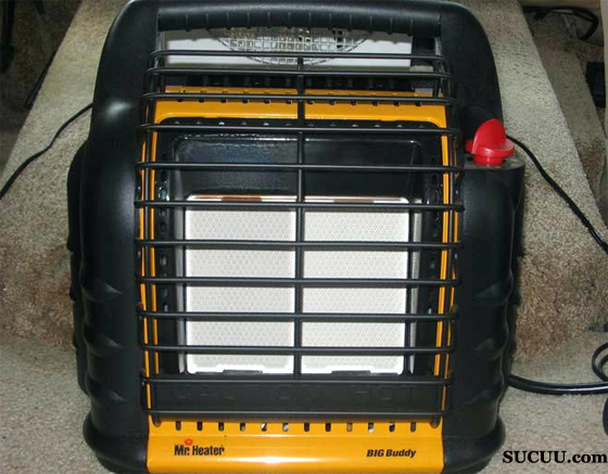 Electric Heater with Outer Grille