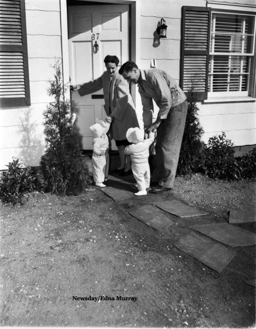 First Family Moves In-1947