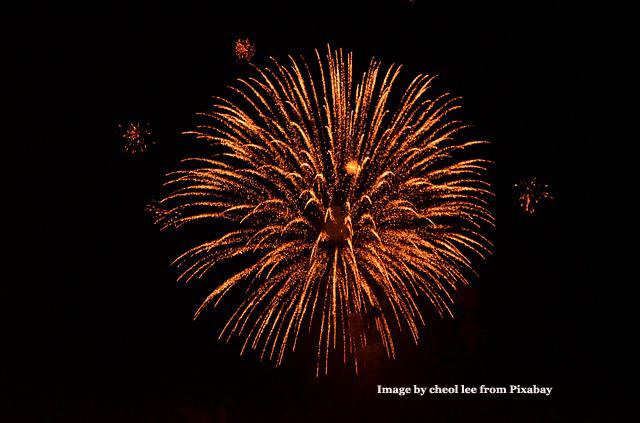 Fireworks Flame
