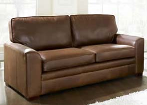 Full Aniline Leather Sofa