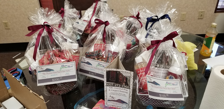 Gift Certificates at ABC Booth #2164 - Syracuse Home Show