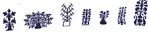 Grain (Tahil) and Wheat (Bugday) Motifs