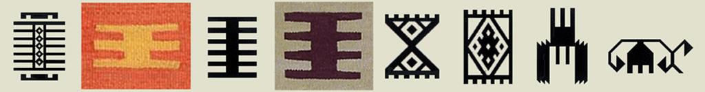 Hand (El), Finger (Parmak), Comb (Tarak) Motifs