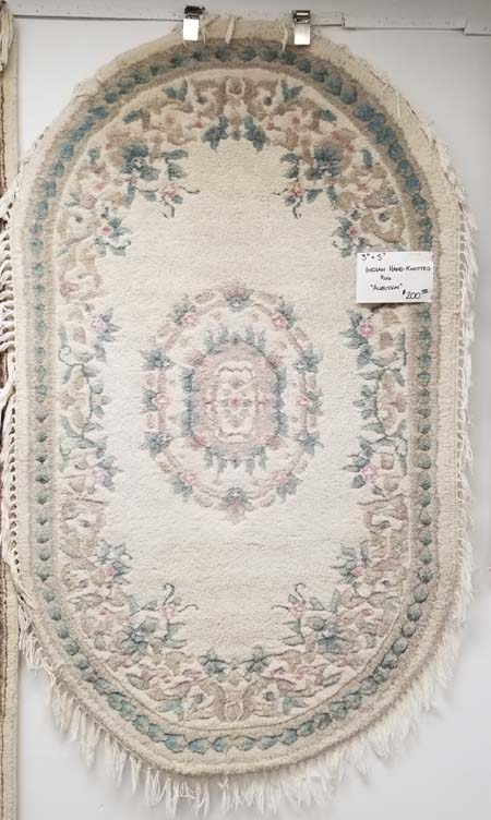 Indian Hand-Knotted Oriental Rug