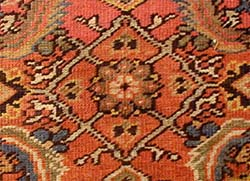Herati Pattern on Rug