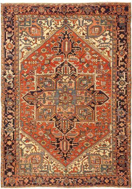 heriz oriental rug design