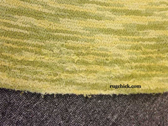 Higher Quality Tufted Rugs Can Shed