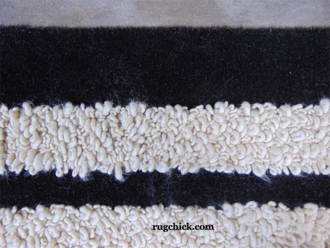 Hooked or Looped Custom Rug Shedding