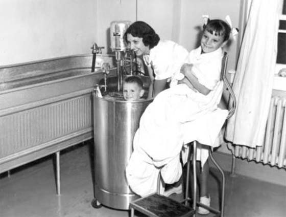 Hydrotherapy Use for Polio Patients