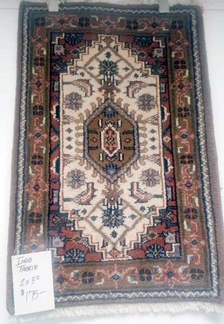 Indo-Tabriz Rug for Sale