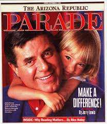 Jerry Lews on Parade Cover