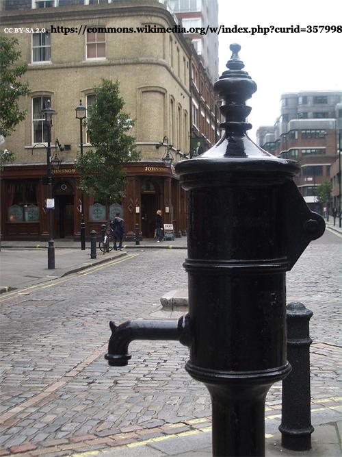Memorial Pump in London