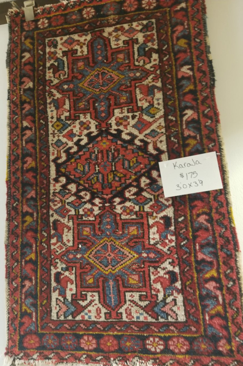Unclaimed Rug Sale