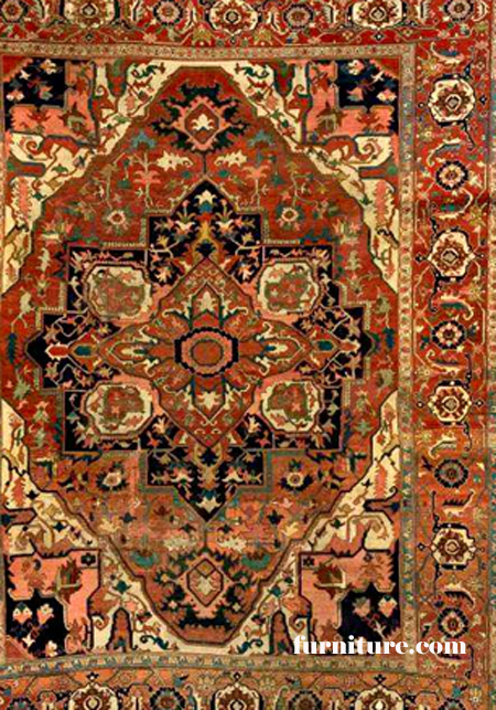 Karaja Rug Rust Color 1880s